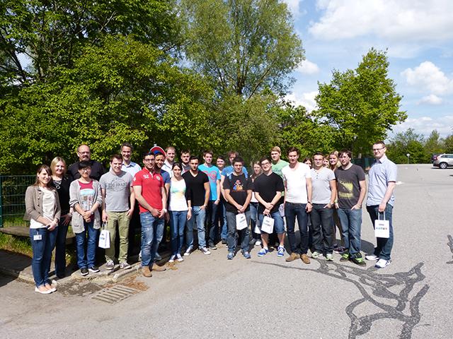 Exkursion zu Kern-Liebers nach Schramberg